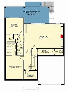 tri level house plans modern prairie house plan with tri level living 23694jd
