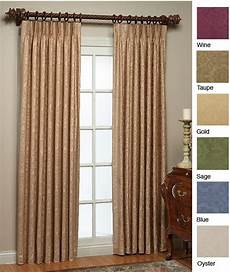 thermal damask pinch pleated panel pair 84 in x 120 in