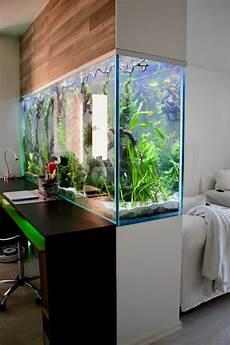 Aquarium In Wand Integrieren 15 Amazing Ideas With Interior Aquariums Page 10 Of 15