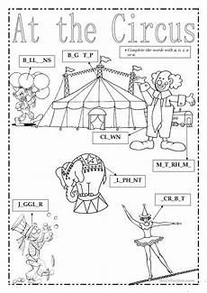 at the circus worksheet free esl printable worksheets made by teachers