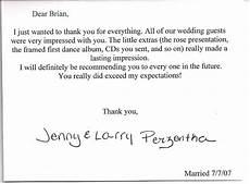 wedding thank you card wording for vendors wedding