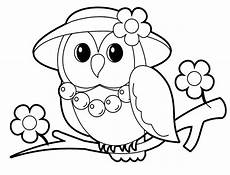 owl coloring pages for coloring home