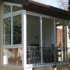 chiudere terrazza con vetro verande alluminio pvc prezzi preventivi sistemacase