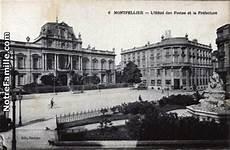 Photos Et Cartes Postales Anciennes De Montpellier 34000