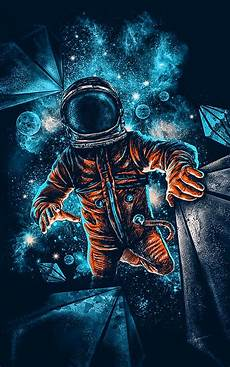 Spaceman Wallpaper 4k by Artistic Spaceman Blue Orange 4k Wallpaper Best Wallpapers