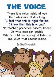 The Voice Poem 187 Free Downloadable Eyfs Ks1 Ks2