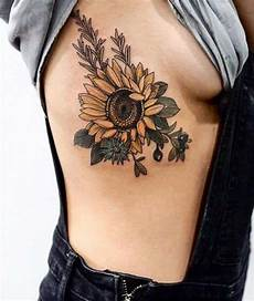 120 bright sunflower tattoos that creates positive mood