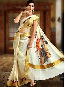 kerala saree style kerala saree un following tradition to un follow style the kerala