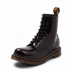 womens dr martens 1460 8 eye patent boot black 569500