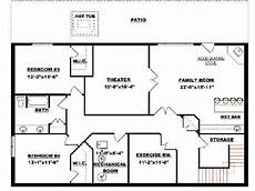bungalow house plans with walkout basement bungalow with walkout basement plan 2011545 basement