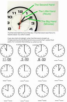 time on the hour worksheets for kindergarten 3611 clock worksheet telling time to the hour learning is clock telling time