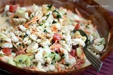 idée menu poisson recette salade de poisson 224 la tahitienne 750g