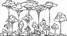 rainforest coloring page wecoloringpage