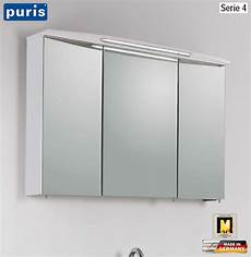 puris speed spiegelschrank 100 cm serie 4 led