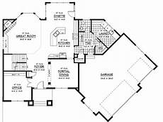 angled garage house plans prairie style house plan with angled garage 14410rk