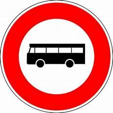 interdiction voiture panneau d interdiction aux v 233 hicules de transport en commun de personnes en wikip 233 dia