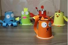 basteln mit kindern kreative bastelideen aus papp und