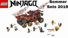 Lego Ninjago Neue Ausmalbilder Lego Ninjago Sommer Sets 2019 Sets Zur Staffel 11