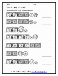 counting money worksheets bills and coins 2081 new 609 counting adding worksheets counting worksheet