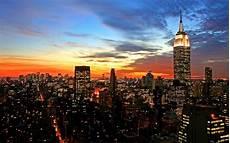 New York City Wallpaper Desktop Wallpaper City Glow