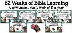 52 hands on activities for the every week of the year 52 weeks of bible learning memorization notebooking nook