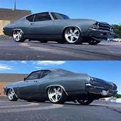 BecauseSS 69 Chevelle Grey Slammed Bagged Tucked Wheels