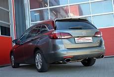 Opel Astra K 200 Ps - der sportauspuff wird f 252 r die serienhecksch 252 rze gefertigt