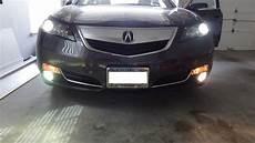 Acura Tl Lights 2012 acura tl hid fog lights acurazine acura
