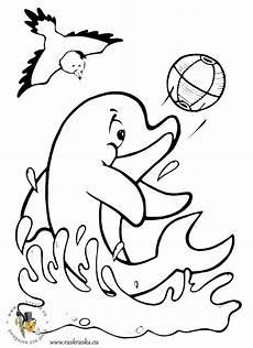ausmalbilder delphin kostenlos malvorlagen zum