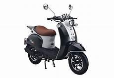motorroller 50 ccm 3 ps 45 km h f 252 r 2 personen weiss