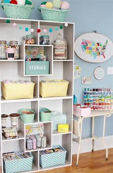 creative craft room storage