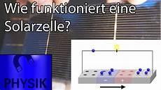 wie funktioniert eine solarzelle