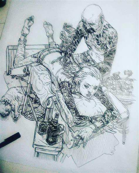 Kim Jung Gi Tattoo