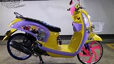 Modifikasi Scoopy by Modifikasi Honda Scoopy Fi Fashion Daily