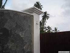 villa talastel boundary wall at talella design construct by sithagi design services sri lanka