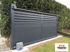 Portail Coulissant Diaouled Aluminium Www Toriportails Be