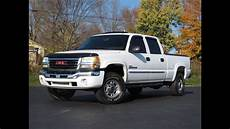 how make cars 2006 gmc sierra 2500hd electronic valve timing 2006 gmc 2500hd slt 4x4 lbz duramax diesel sold youtube