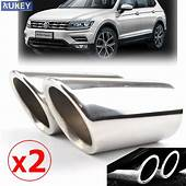 2x Exclusive Car Styling SSteel Exhaust Muffler Tip Tail