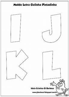 molde letras do alfabeto galinha pintadinha ideia criativa gi barbosa educa 231 227 o infantil