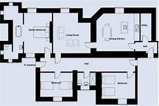 servant quarter house plan torrisdale castle estate