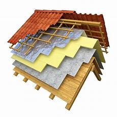 isolation thermique toiture roof thermal insulation 3d rendering isoltoit