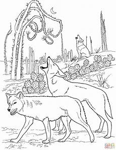 Malvorlagen Wolf Quest Wolf Pack Coloring Pages Coloring Home