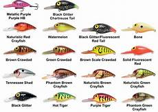 Pre Rapala Wiggle Wart Color Chart Storm Lures Original Wiggle Wart New Colors For 2013