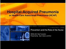 hospital acquired pneumonia definition 2019