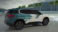 Nouveau Suv Citroen C5 Aircross Hybrid Concept