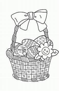 Ostereier Malvorlagen Challenge Free Easter Egg Basket Coloring Pages Free Clip