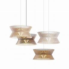 Lustre Design Scandinave Kontro En Bois Clair Bois Blanc