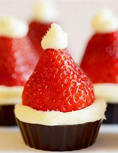 santa hat mini cheesecake recipe dinner
