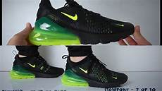 nike air max 270 black volt review unboxing on