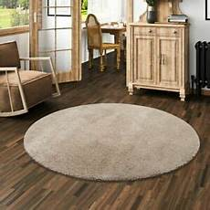 teppich taupe hochflor shaggy teppich palace taupe rund ebay